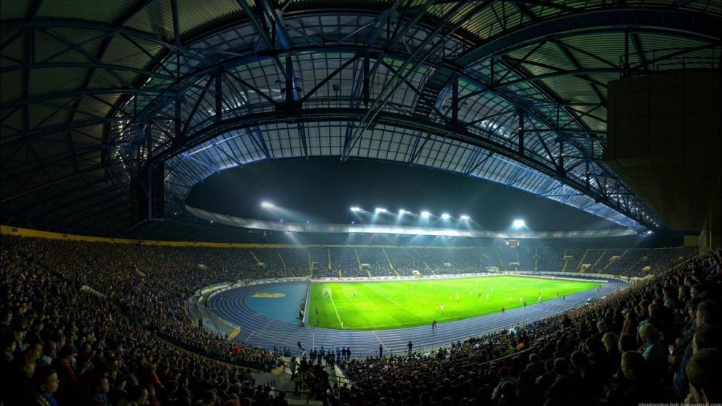 Усилители MC² на стадионе «Металлист», Харьков
