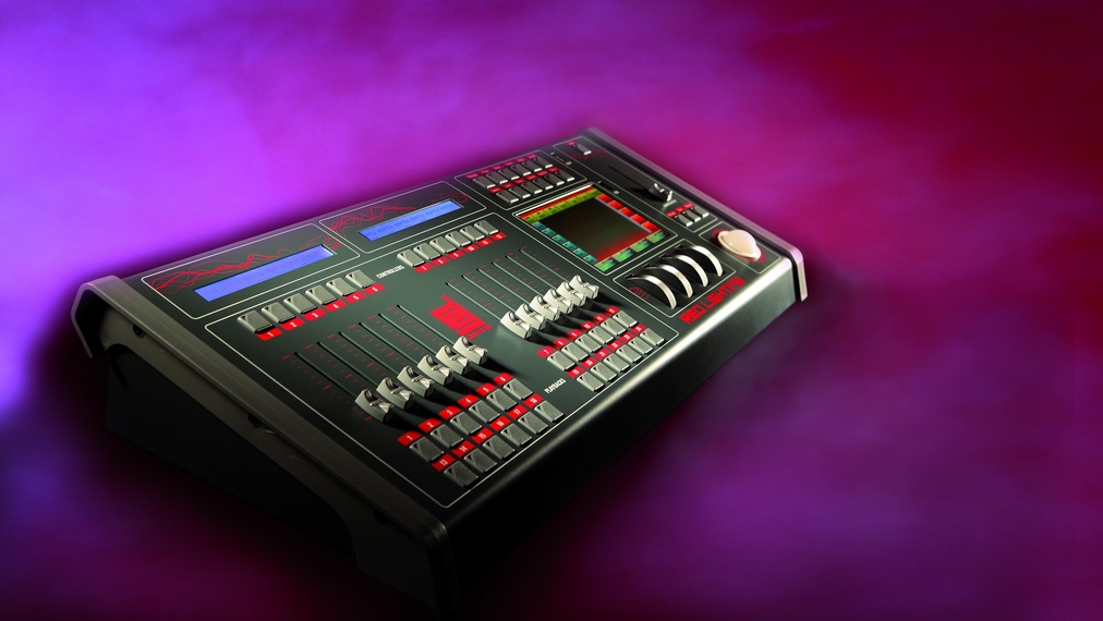 RE DMX световой пульт с сенсорным дисплеем