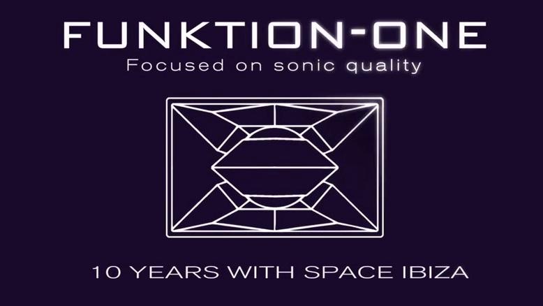 Системы Funktion One – десятилетие в клубе Space, Ibiza