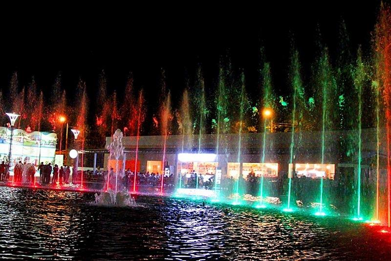 Шоу музыкальных фонтанов Аркадия Сити, Одесса
