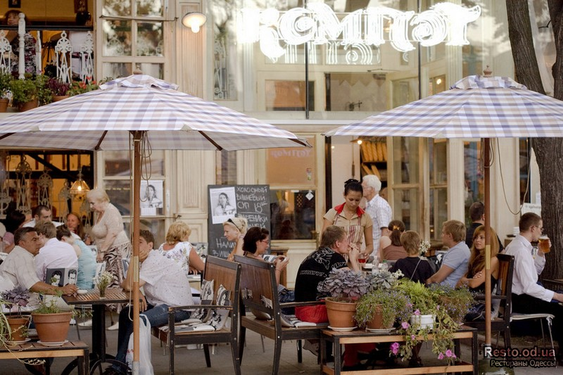Ресторан Компот, корпорация Реста, Одесса