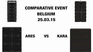 Cравнение: AudioFocus Ares и L'Acoustics Kara