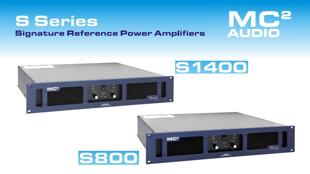 S-серия усилителей от MC2 Audio