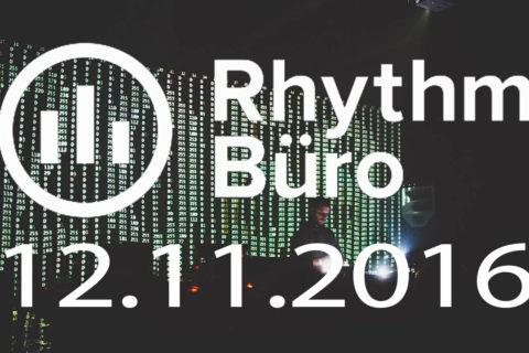 Rhythm Büro — Donato Dozzy, Svreca, Woo York, Na Nich @ 12.11.2016