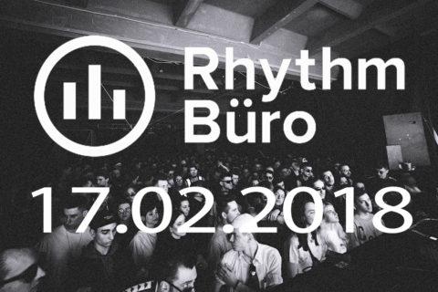 Rhythm Büro: Oscar Mulero, Varg @ (17.02.2018)